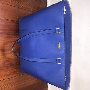 Cobalt Blue Kate Spade Tote